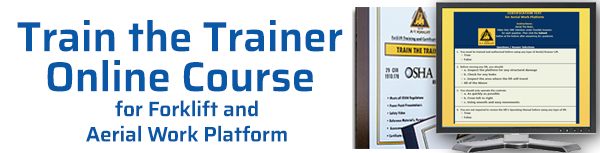 A-1 Forklift Train the Trainer OnLine Course
