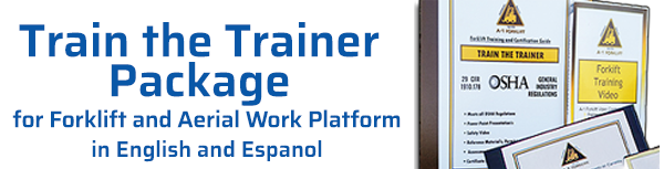 A-1 Forklift Train the Trainer Package