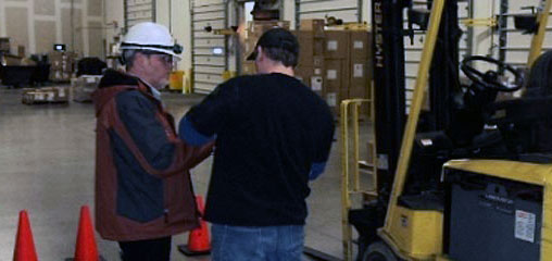A-1 Forklift Certification Onsite Training